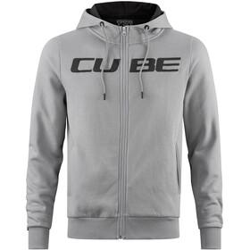 Cube Zip Hoody Huvtröja Herr Cube grå